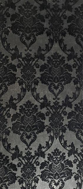 flock wallpaper flocking black gold metallic flocked velvet 21 inc x 33 ft roll
