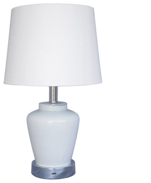 End Table Lamps With Usb Ports