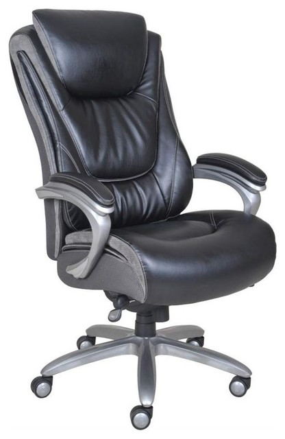 Serta By True Innovations And Tall Smart Layers Executive Office Chair Traditional Chairs Homesquare