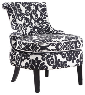 Diana Accent Chair By Powell Contemporary Living Room Chairs