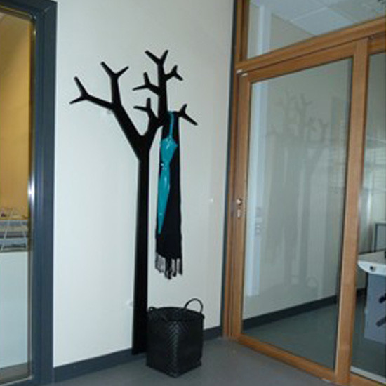 Swedese Tree Wall Coat Stand Black