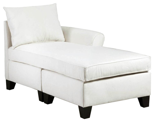 Right Arm Chaise, Light Slate.
