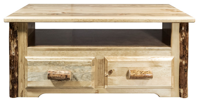 Glacier Country 2 Drawer Sitting Chest/entertainment Center.