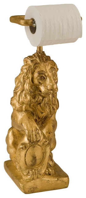 Shop Houzz Hickory Manor Standing Lion Toilet Paper