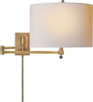 How High Should We Install A Swing Arm Lamp By Our Bed?