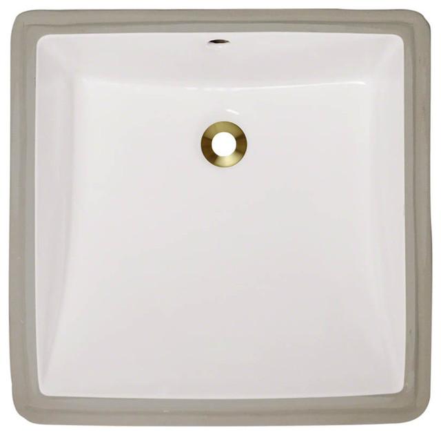 Mr Direct U2230 Undermount Porcelain Sink Contemporary Bathroom Sinks By Mr Direct Sinks