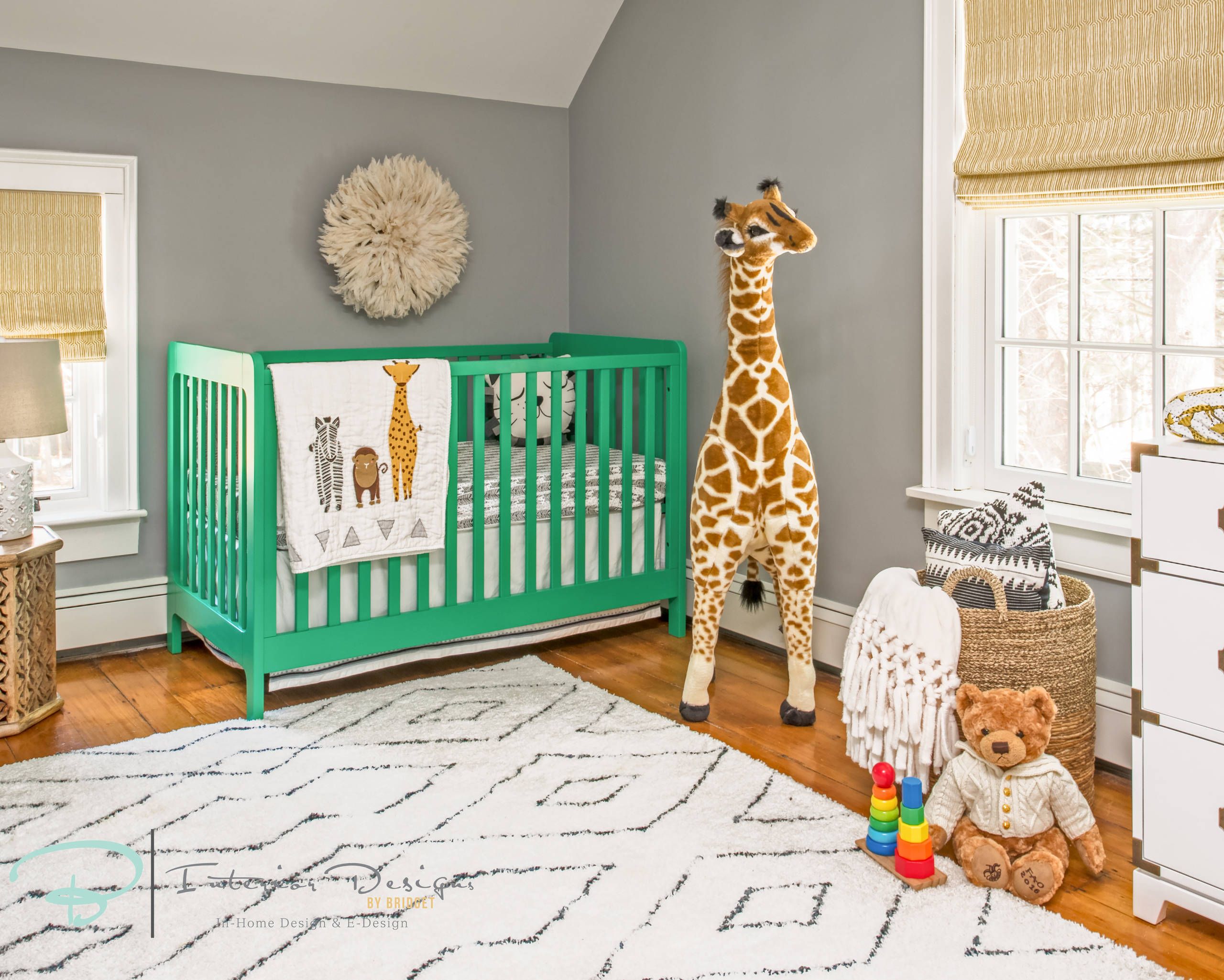 Baby's Gender Neutral Safari Theme Nursery