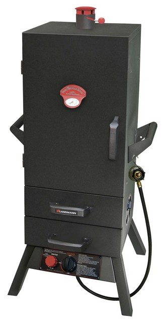 Gas Easy Access 2 Drawer Vertical Smoker 34 In..