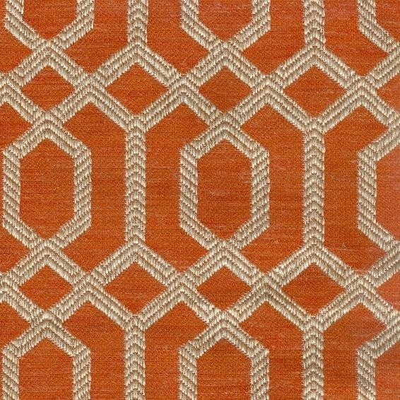 Cure Peach Upholstery and Drapery Fabric
