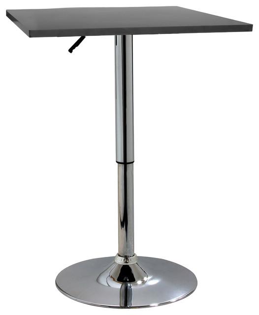 Amerihome Btablewsq Classic Wood Top Bistro Table, Square.