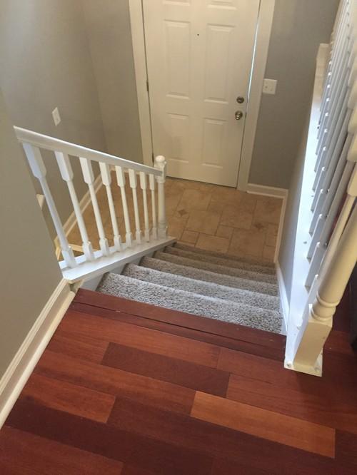 Beau Carpet Stairs And Hardwood Floors O2 Pilates