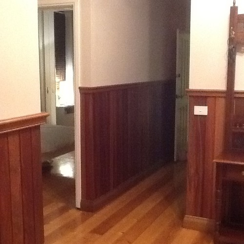 Should i paint the panelling Should i paint wood paneling