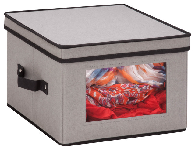 Square Window Storage Box.