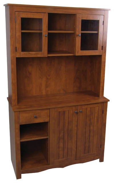 Oak Hills China Cabinet - Contemporary - China Cabinets And ...
