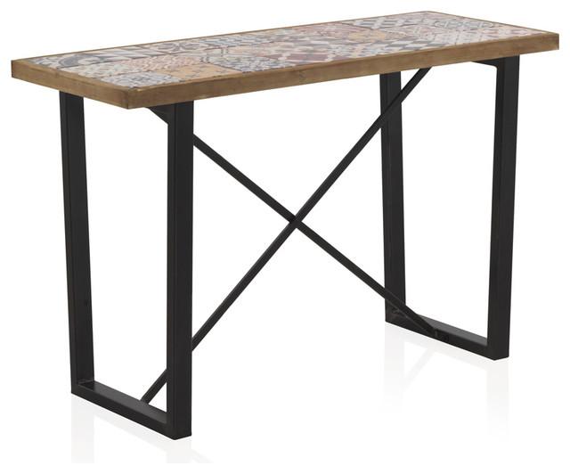 Alicante Tiled Console Table