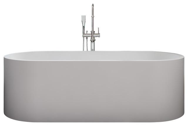 ADM Free Standing Stone Resin Bathtub Bathtubs By ADM Bathroom Design
