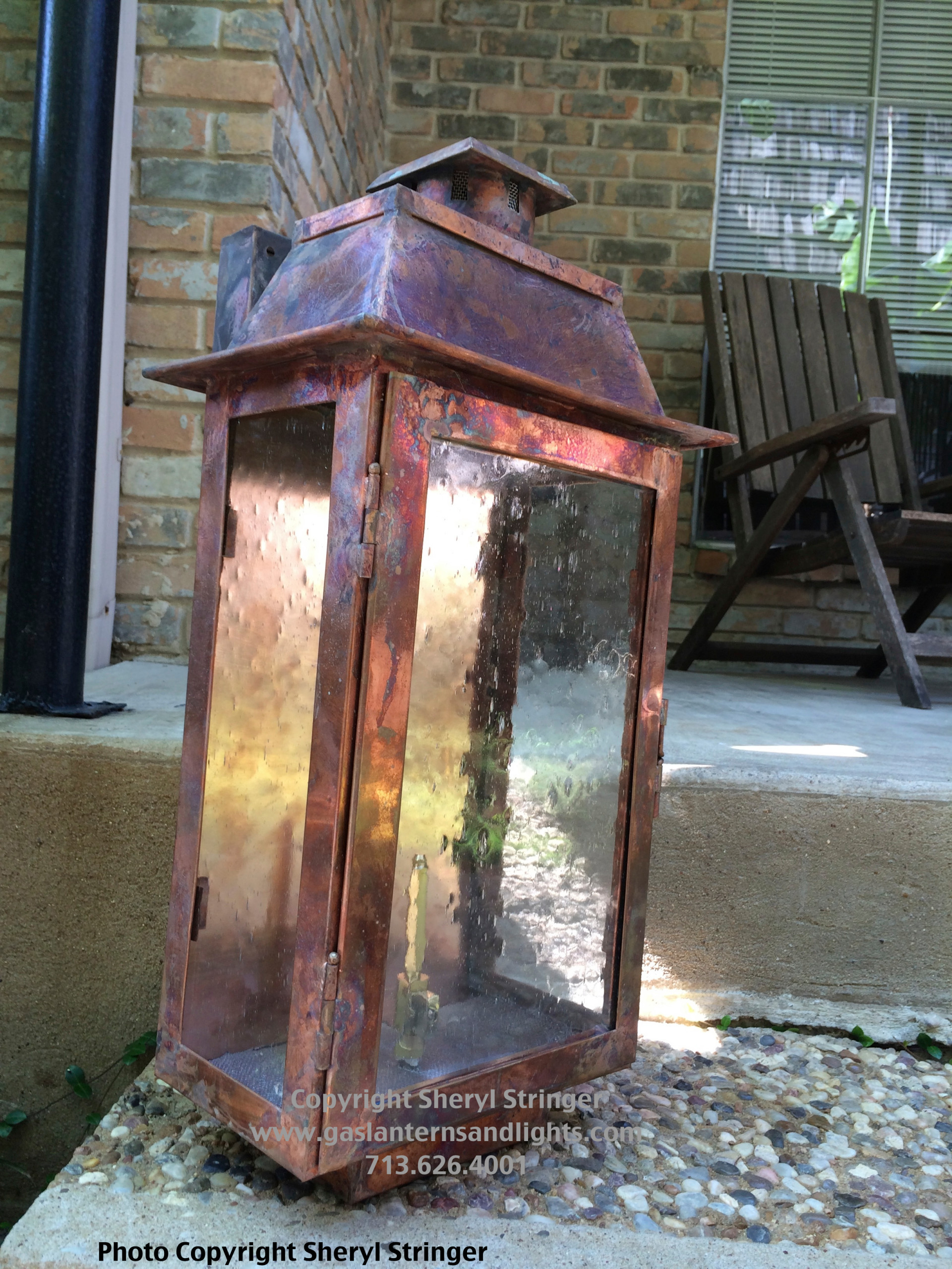Electric and Gas Lanterns by Sheryl Stringer