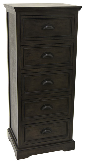 Three Hands Wood Cabinet.