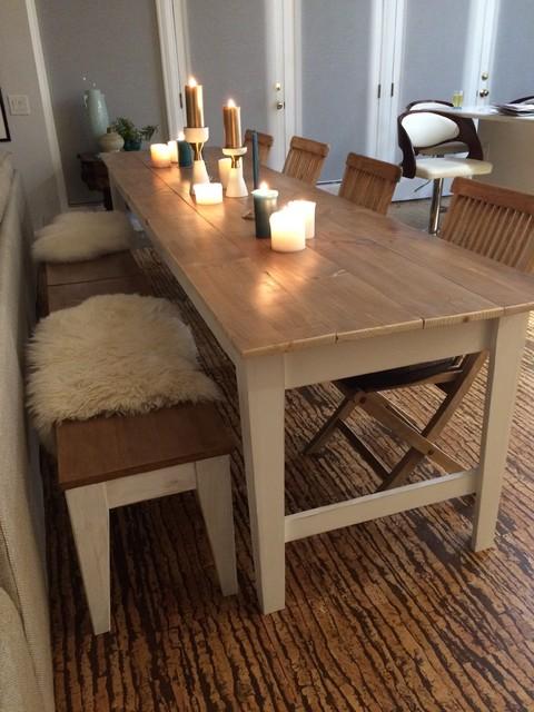 Elegant Custom Farmhouse Table Farmhouse