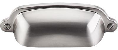 "Solid Brass Oval Polished Cabinet Knob Set Of 6 1-1/4"""