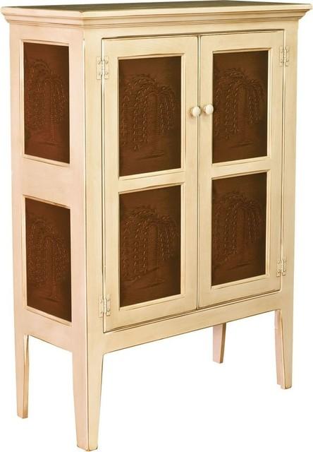 Shop Houzz | Chelsea Home Jeremiah Pie Safe Cabinet ...