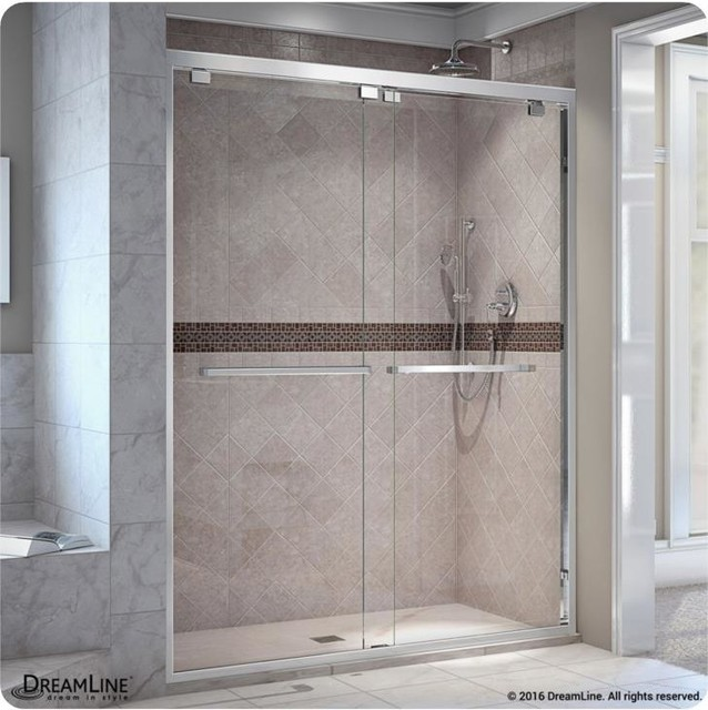 DreamLine 44 to 60x76 Bypass Sliding Shower Door, SHDR-1648760-06 by DreamLine