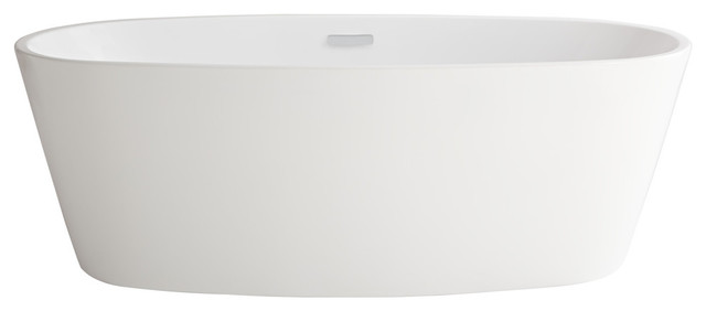 american standard free standing tub. Coastal Serin Freestanding Tub  White contemporary bathtubs Contemporary Bathtubs