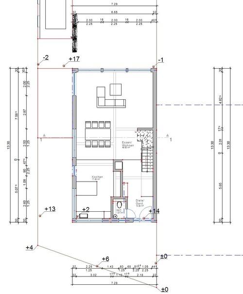Grundrissplanung doppelhaush lfte for Grundrissplanung haus
