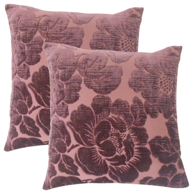 Wyldia Floral Throw Pillows, Set of 2, Julep