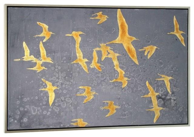 Migration Artwork on Canvas