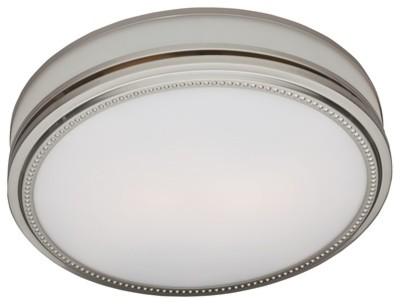 Riazzi Decorative Bath Fan With Light, Decorative Bathroom Exhaust Fans
