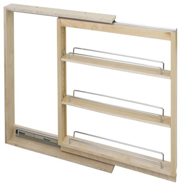 Base Cabinet Filler Pullout 3u0027u0027x23u0027u0027x30u0027u0027 BFPO3SC Transitional