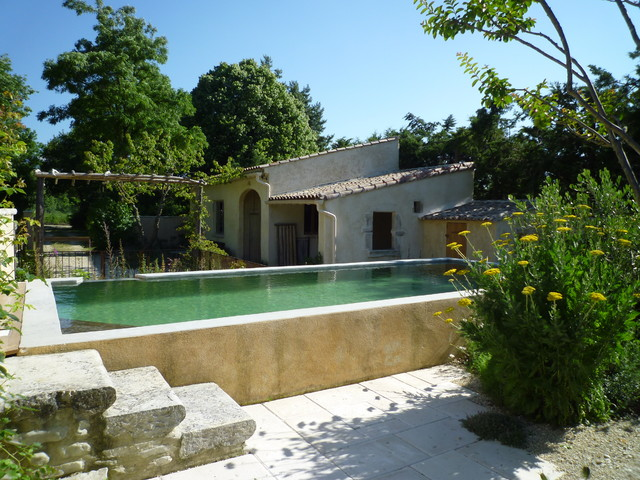 piscines naturelles pour petit jardin grenoble par adelfo. Black Bedroom Furniture Sets. Home Design Ideas