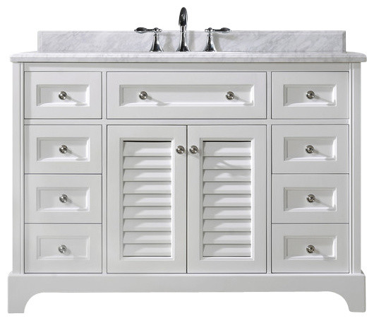 "madison bathroom vanity, white, ""  beach style  bathroom, Bathroom decor"
