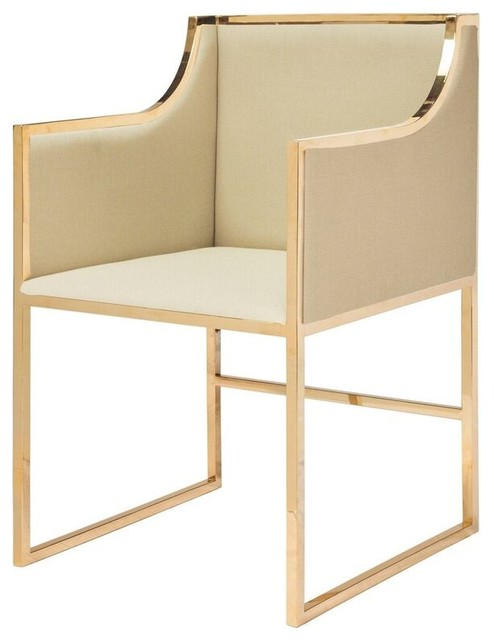 Worlds Away Annabelle Chair Contemporary Dining Chairs By