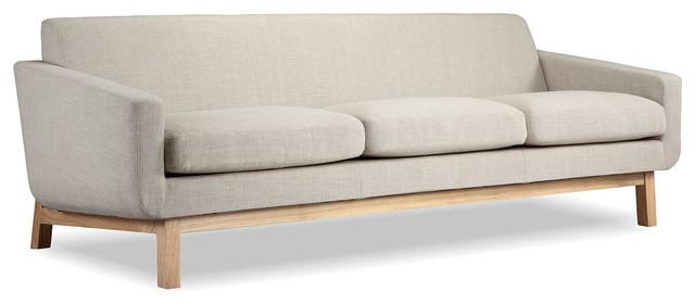 Platform Midcentury Modern Classic Sofa - Midcentury - Sofas - by ...