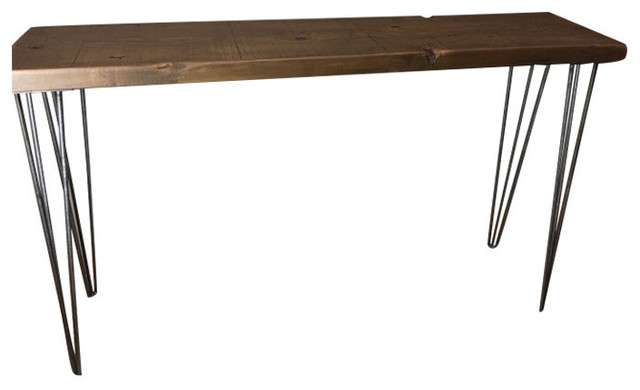 Entry Or Console Table Reclaimed Wood Hairpin Legs Tables By Barnxo