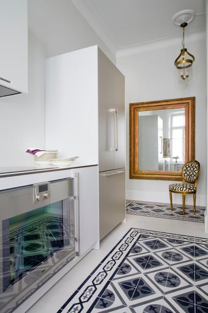 beautiful kitchen london by mosaic del sur. Black Bedroom Furniture Sets. Home Design Ideas