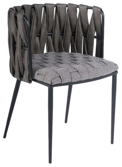 Milano Dining Chair, Gray