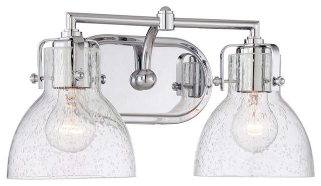Minka-Lavery Vanity Lights, Chrome
