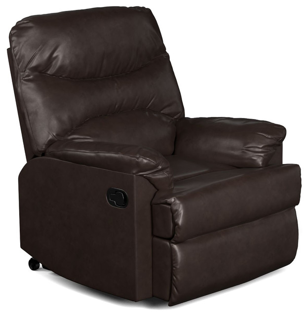 Prolounger Wall Hugger Black Renu Recliner Transitional