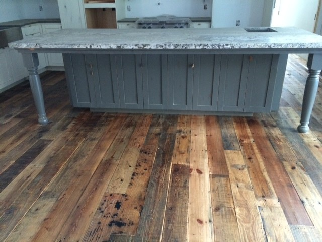 reclaimed wood flooring rustic san francisco by