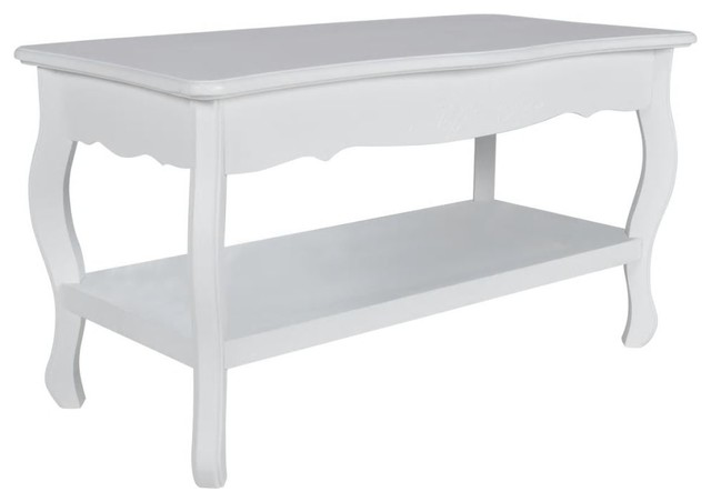 vidaXL 2-Level Coffee Table