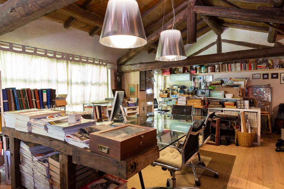 Atelier in un vecchio fienile