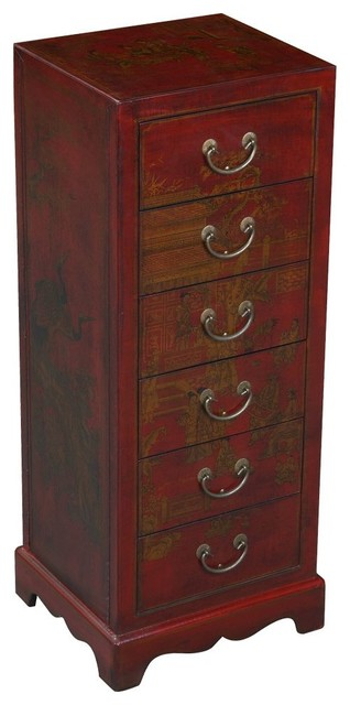 Handmade Oriental-Style Hall Table - Asian - Accent Chests And Cabinets - by EXP