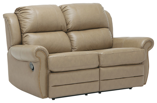 Remarkable Enoch Top Grain Leather Reclining Loveseat Bralicious Painted Fabric Chair Ideas Braliciousco