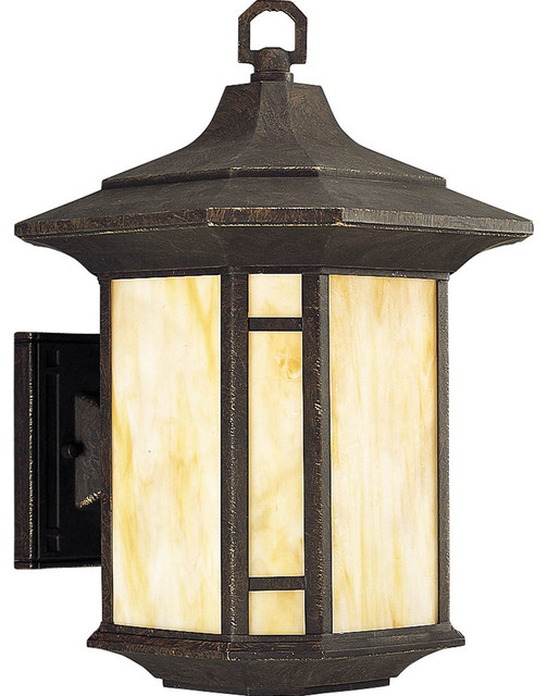 Outdoor Lighting Fixtures Arts And Crafts Progress Lighting Arts And Crafts 1 Light Outdoor Wall Lantern Traditional