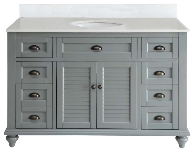 Inspirational Beach Style Bathroom Vanities And Sink Consoles by Chans Furniture