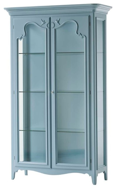 Pastel Shade Wooden Cabinet With 2 Doors