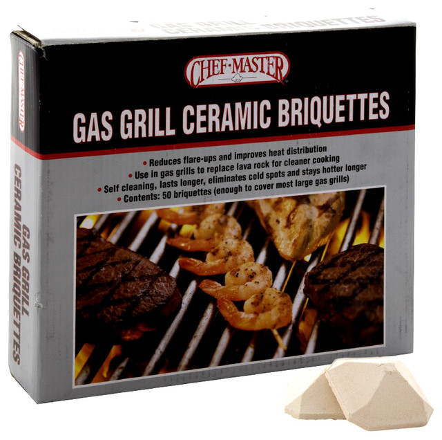 Mr. Bar-B-Q 05004cm Gas Grill Ceramic Briquettes.